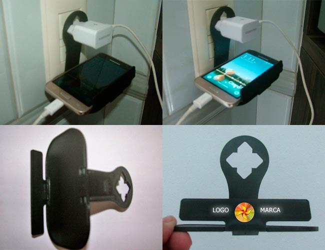 suporte para carga de aparelho celular