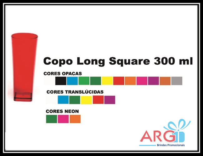 02 - COPOS LONG DRINK - COPO LONG SQUARE