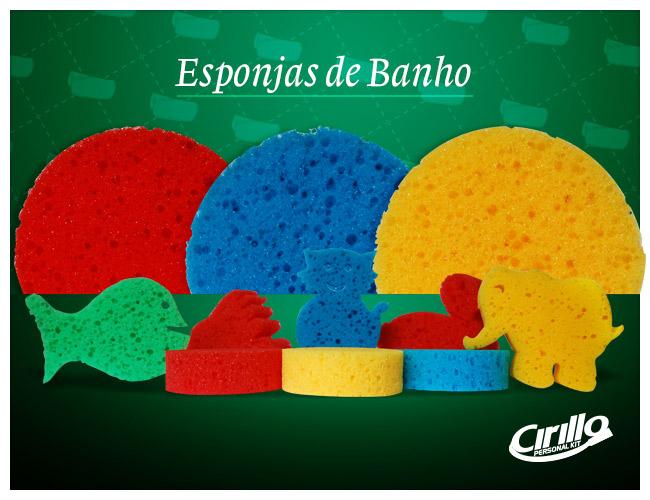 12 - ESPONJAS DE BANHO PERSONALIZADAS