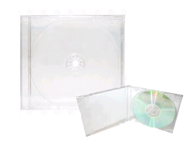 31 - CAIXINHA ACR�LICA TRADICIONAL PARA CD