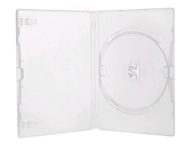 34 - CAIXINHA TRANSPARENTE PARA DVD - AMARAY