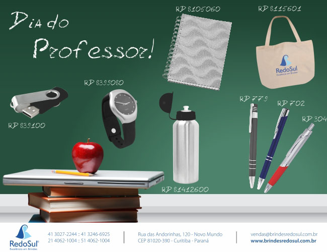 DIA DO PROFESSOR - REDOSUL