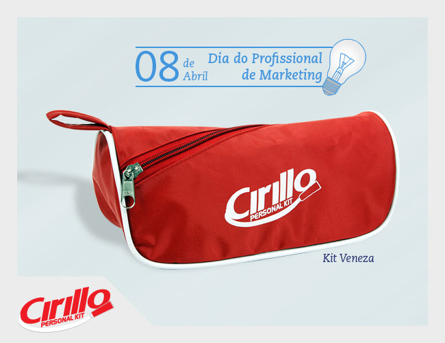 DIA DO PROFISSIONAL DE MARKETING - CIRILLO PERSONAL KIT