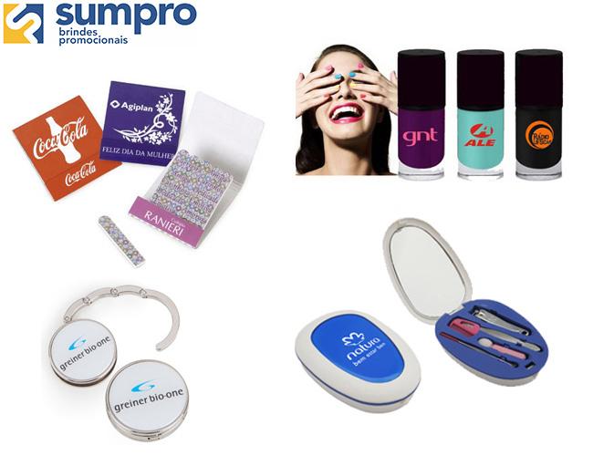 linha feminina  kit manicure  mini lixa de unha  esmalte de unha  porta bolsa de metal