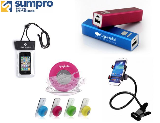 linha informática  mini caixas de som a prova de água  carregador portátil  capa para celular