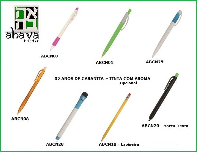 05 - CANETAS NACIONAIS - LAPISEIRAS - CANETAS 4X1 - CANETA MARCA TEXTO