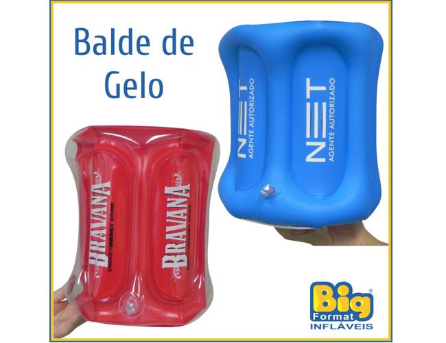03 - BALDE DE GELO INFLÁVEL - BALDE PARA BEBIDAS - BALDE PARA CERVEJA - BALDE PARA CHAMPANHE - BALDES DE GELO EM PVC