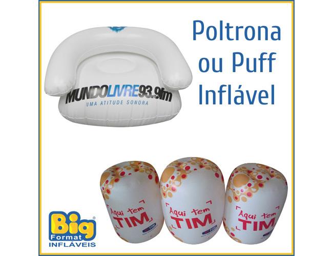 14 - POLTRONA - PUFF INFLÁVEL - POLTRONAS INFLÁVEIS - PUFFS