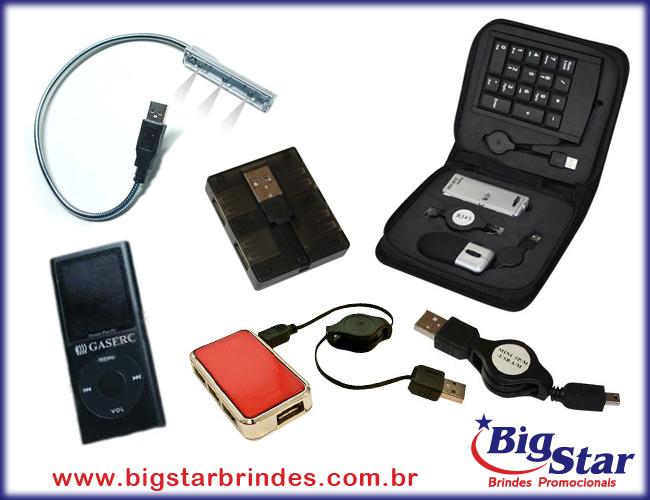 35 - MP3 - MP4 - LUMINÁRIAS PARA NOTEBOOK - MOUSE - HUB - USB - ADAPTADOR UNIVERSAL - MOUSE SEM FIO