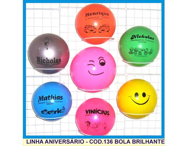 01 - BOLAS PARA LEMBRANCINHAS DE ANIVERSÁRIO INFANTIL - BRINDES INFANTIS