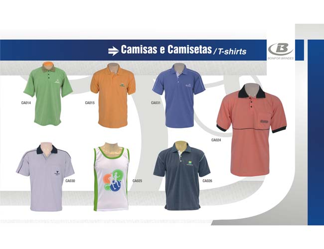 05 - CAMISAS POLO e REGATAS