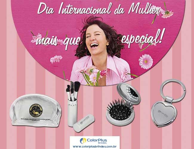 DIA INTERNACIONAL DA MULHER  - COLOR PLUS