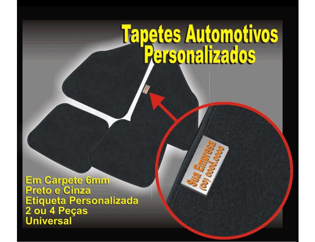 16 - CARPETE PARA CARRO PERSONALIZADO - TAPETES PARA CARROS