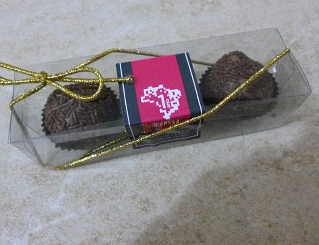 CHOCOLATES DE BRINDES PARA DENTISTAS - FINESSE BRINDES