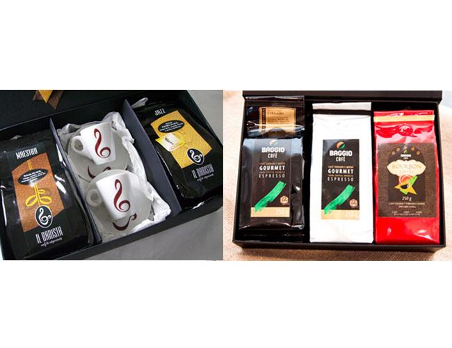 28 - KITS COM 2 OU 3 CAFÉS GOURMET E 2 XÍCARAS - KIT CAFÉ