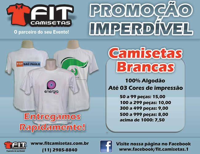 CAMISETAS COM PRE�OS ESPECIAIS  - FIT CAMISETAS