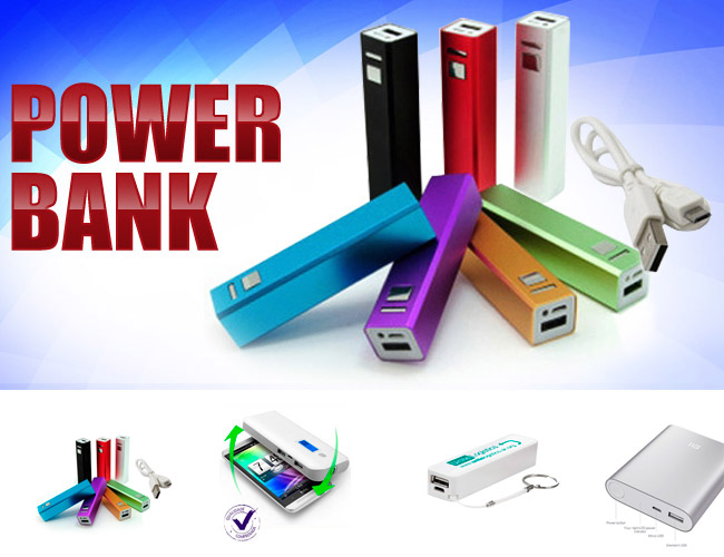 05 - POWER BANK PERSONALIZADO - CARREGADOR DE CELULAR