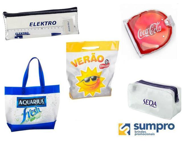 brindes em pvc  sacola em pvc  necessaire em pvc  kit educacional  kit escolar  porta cd