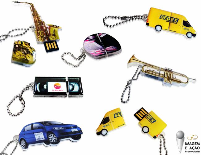 PEN DRIVE EM ACR�LICO - IMAGEM E A��O PROMOCIONAL