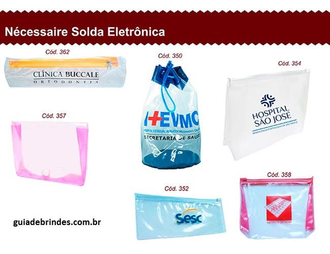 03 - NÉCESSAIRE SOLDA ELETRÔNICA - NÉCESSAIRE PVC - BOLSA PVC - MOCHILA PVC - PASTAS EM PVC