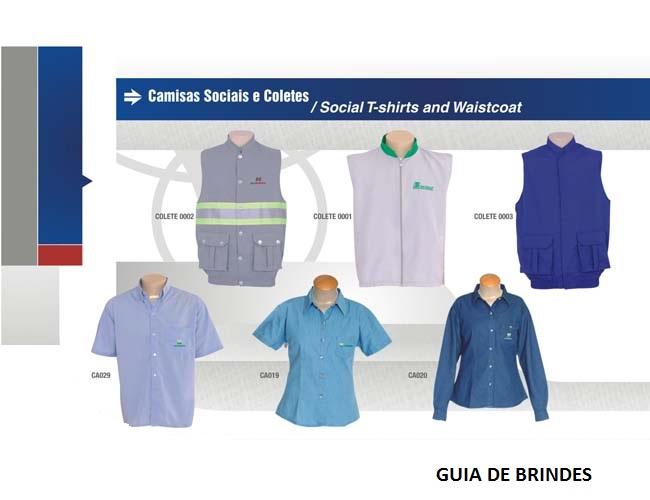 06 - CAMISAS SOCIAIS e COLETES