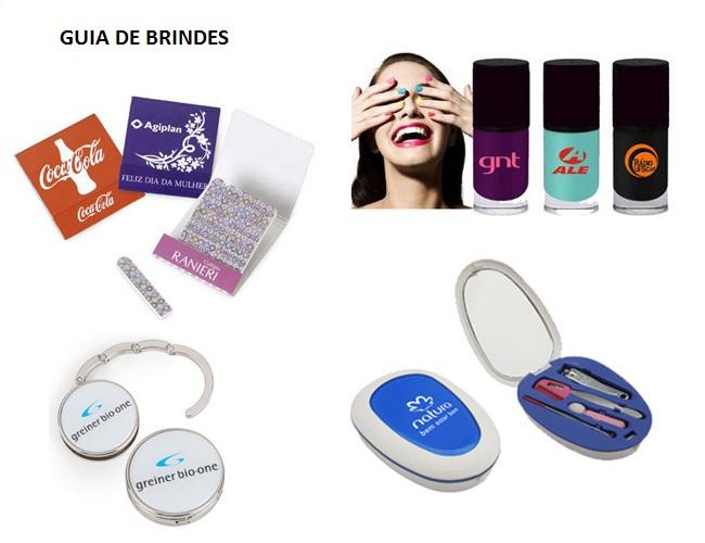 01 - LINHA FEMININA - KIT MANICURE - MINI LIXA DE UNHA - ESMALTE DE UNHA - PORTA BOLSA DE METAL