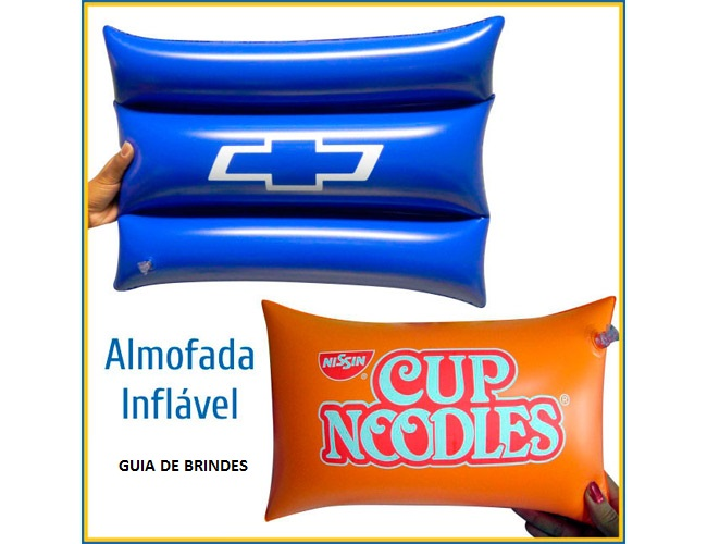 01 - TRAVESSEIRO INFLÁVEL - ALMOFADA INFLÁVEL - TRAVESSEIROS INFLÁVEIS