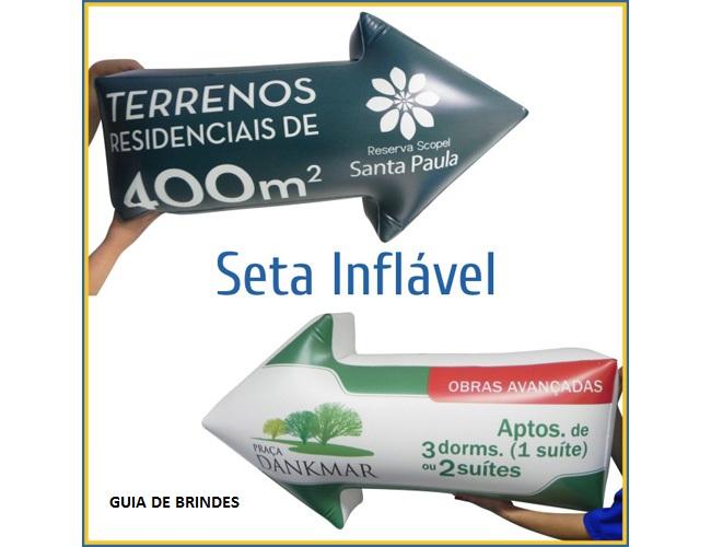 16 - IDENTIFICAÇÃO INFLÁVEL - SETA INFLÁVEL - AÇÃO PROMOCION