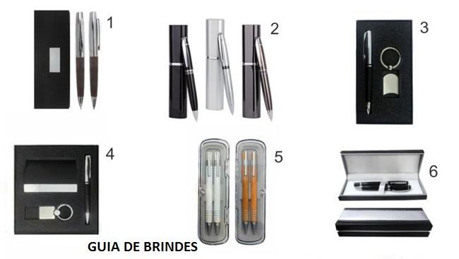 15 - BRINDES EXECUTIVOS - CANETA ROLLER - CANETA TINTEIRO - CANETA LASER