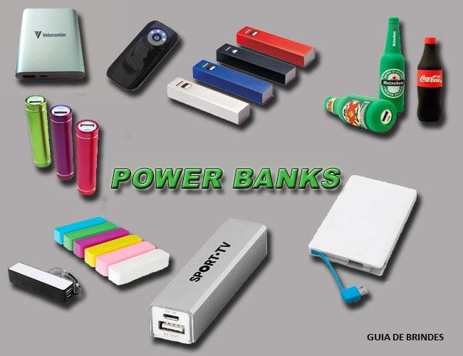 01 - POWER BANK - CARREGADOR DE CELULAR - LIMPADOR DE MONITOR