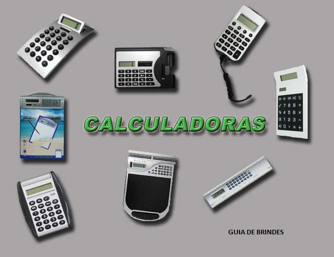 07 - CALCULADORAS DE MESA - CALCULADORAS DE BOLSO  - CALCULADORAS ELETRÔNICAS