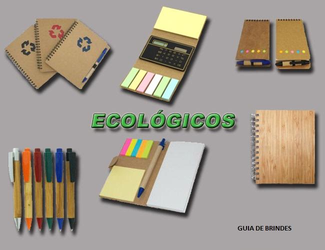 10 - BRINDES ECOLÓGICOS  - BLOCOS DE ANOTAÇÕES - BLOCOS POST-IT - AGENDAS DE PAPEL RECICLADO