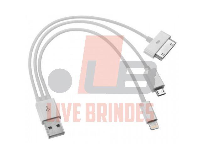 04 - CABO COM ADAPTADOR 3 EM 1 - CABO USB