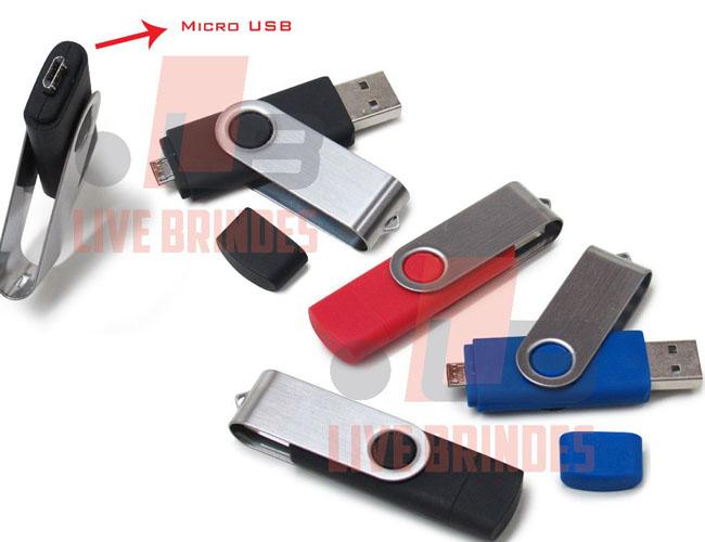05 - PEN DRIVE COM MICRO USB  - PEN DRIVE - MIN PEN DRIVE