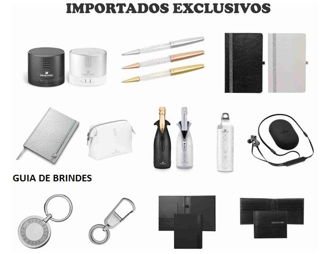 06 - KIT EXECUTIVO - BRINDES IMPORTADOS - MOLESKINE - CAIXAS DE SOM - SUPORTE VINHO NEOPRENE - PORTA BLOCOS