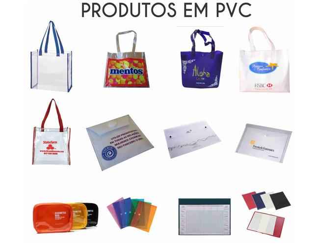 08 - SACOLAS EM PVC - MOCHILAS EM PVC - NECESSAIRE - PASTA CONVENÇÃO - RISQUE RABISQUE - PORTA DOCUMENTO